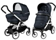 Коляска 2 в 1 Peg Perego Book 51 Elite Modular (шасси White/Black)